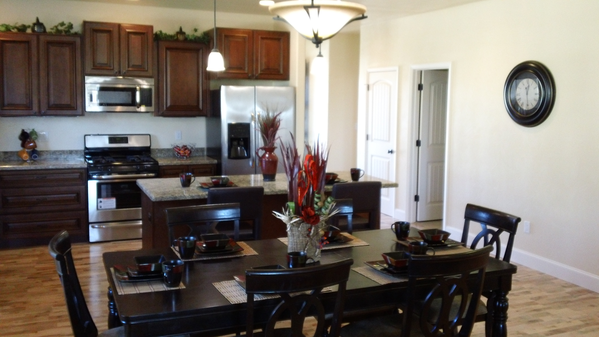 Homes for sale centennial village in manhattan mt for House kitchen model
